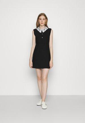 RAMINE - Day dress - noir