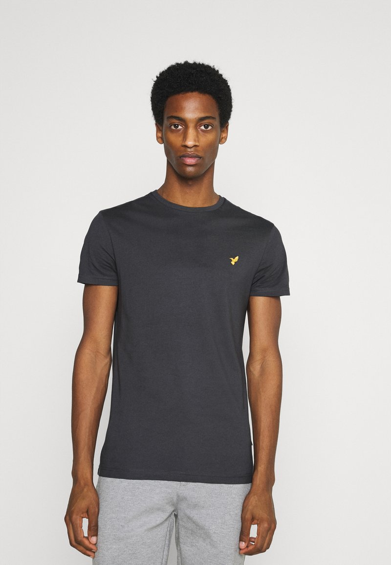 Pier One - Basic T-shirt - dark grey
