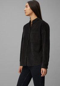 Marc O'Polo DENIM - Button-down blouse - black - 4