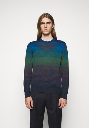 LONG SLEEVE CREW NECK - Maglione - dark blue