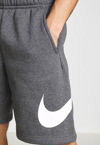 Nike Sportswear - Shorts - charcoal heathr/white - 4