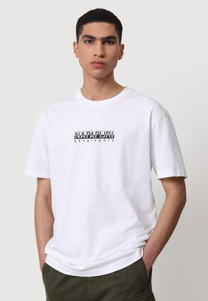 S BOX - T-shirt imprimé - bright white