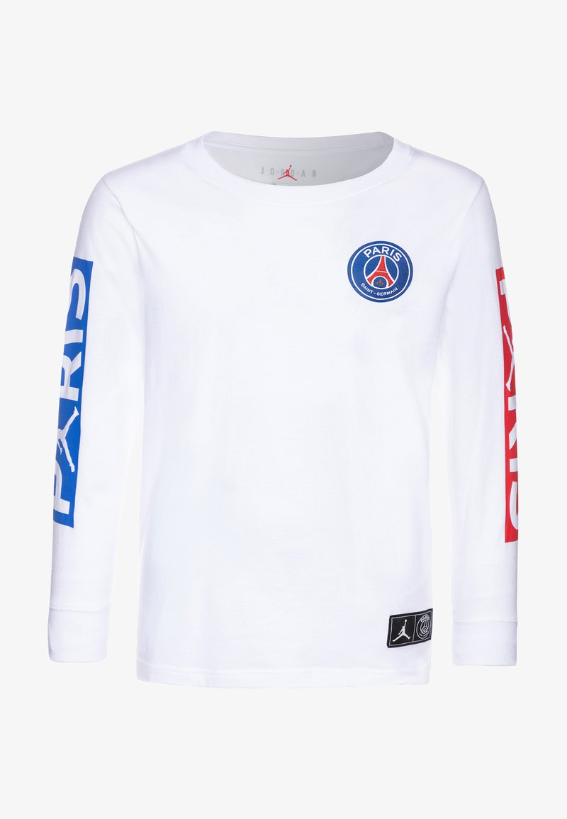 Jordan - PARIS ST GERMAIN LONGSLEEVE - Club wear - white