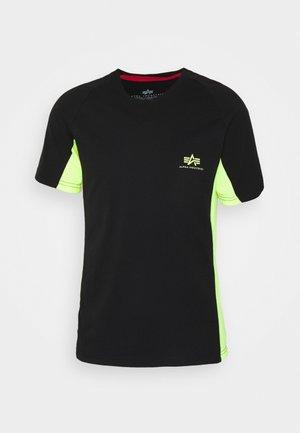 CONTRAST  - Print T-shirt - black