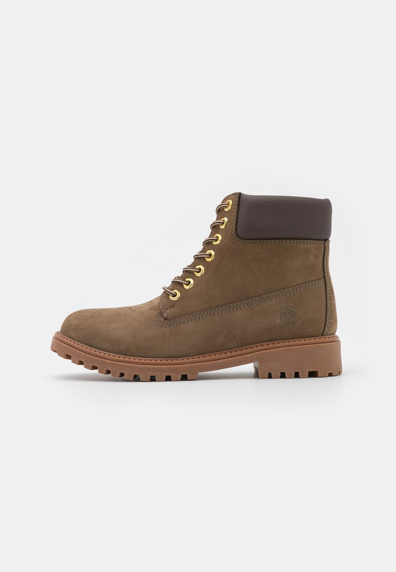 Lumberjack - RIVER - Lace-up ankle boots - taupe