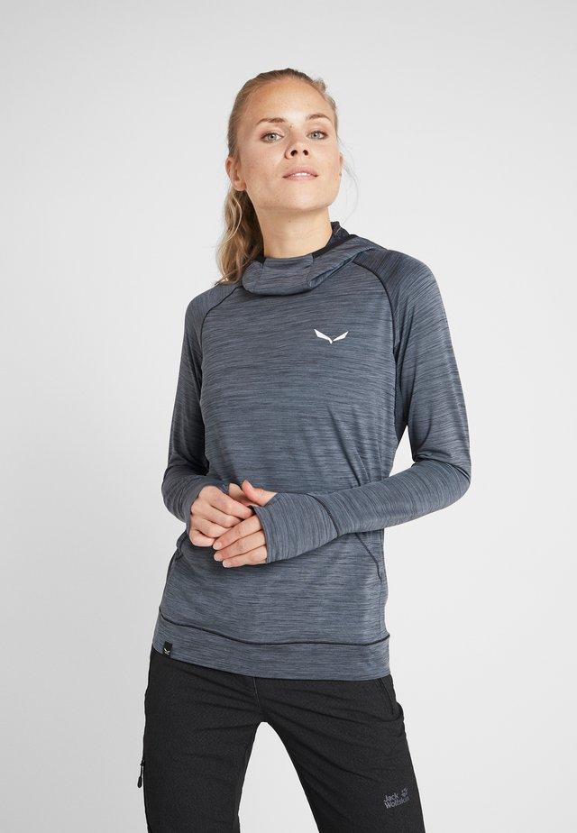 PUEZ DRY - T-shirt de sport - black out melange