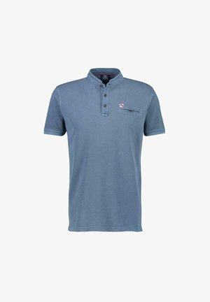 Polo shirt - faded blue