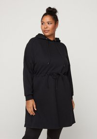 Active by Zizzi - Robe en jersey - black - 0