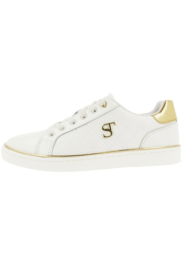 Trainers - wht-gld