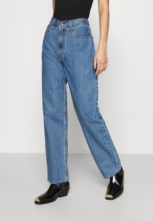 DAD JEAN - Straight leg jeans - blue