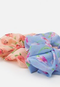 Pieces - PCNAIA OVERSIZED SCRUNCHIE 2 PACK - Hair styling accessory - bridal rose/blue - 1