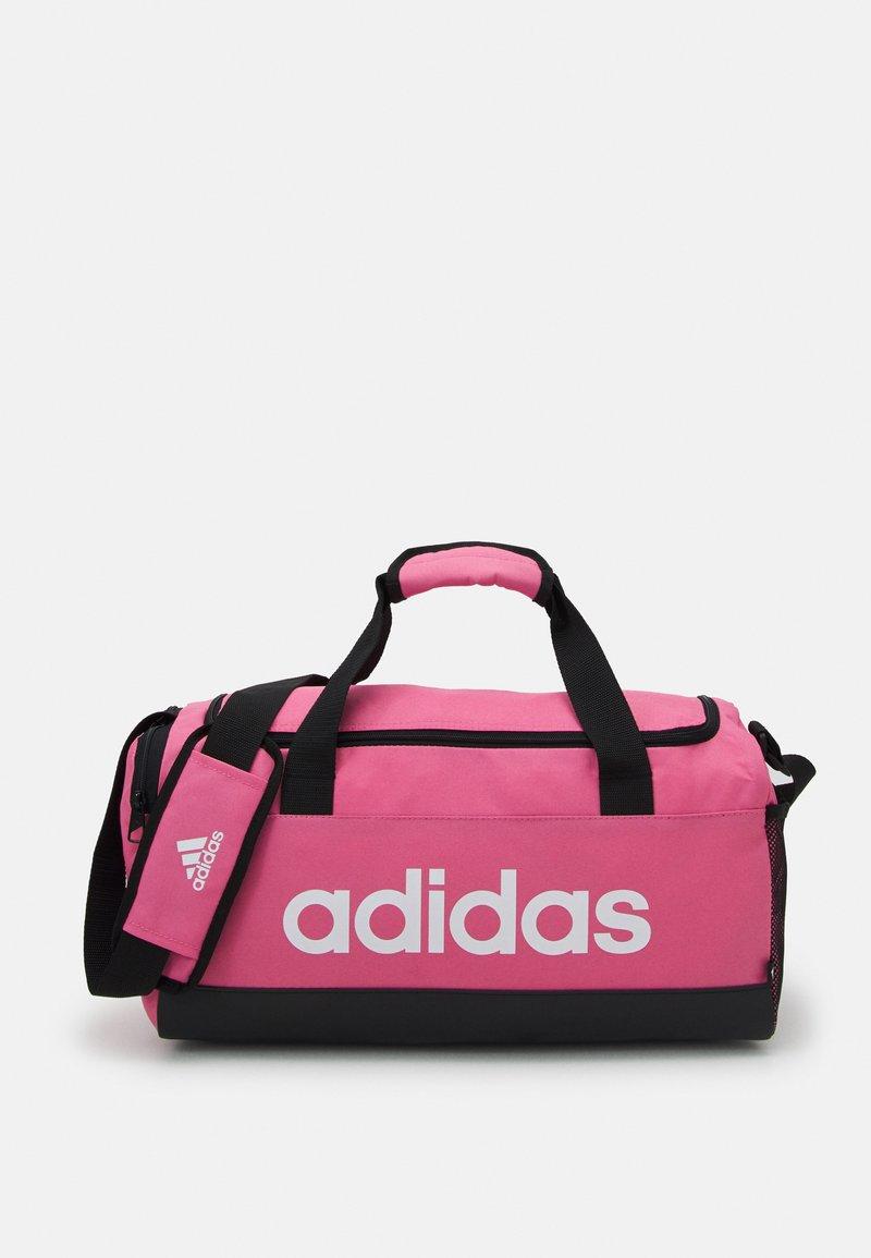 adidas Performance - LINEAR DUFFEL S UNISEX - Sportovní taška - rose tone/black/white