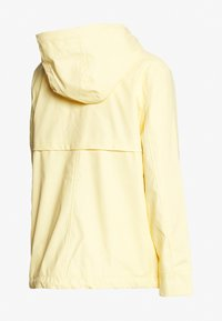 Dorothy Perkins Maternity - MATERNITY SHORT RAINCOAT - Regnjakke - lemon
