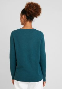 Marc O'Polo - LONGSLEEVE BASIC - Jumper - dusky emerald - 2
