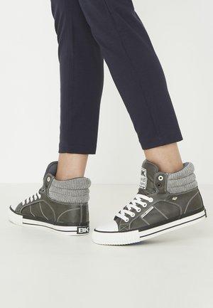 ATOLL - Zapatillas altas - dk grey/lt grey