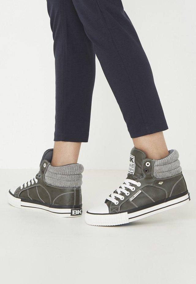 ATOLL - Baskets montantes - dk grey/lt grey
