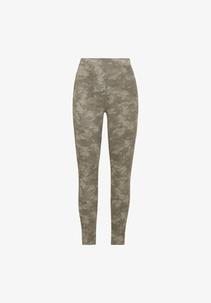 ANKLE JEAN-ISH - Legíny - stone washed camo