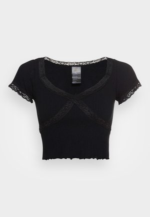CROSS BABY TEE - T-shirt imprimé - black