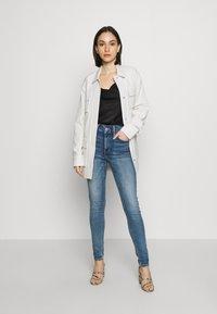 Topshop - ZED  - Jeans Skinny Fit - blue denim - 1