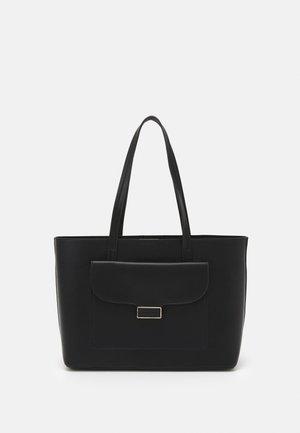 BROOKLYN FILLED LOCK TOTE BAG - Tote bag - black