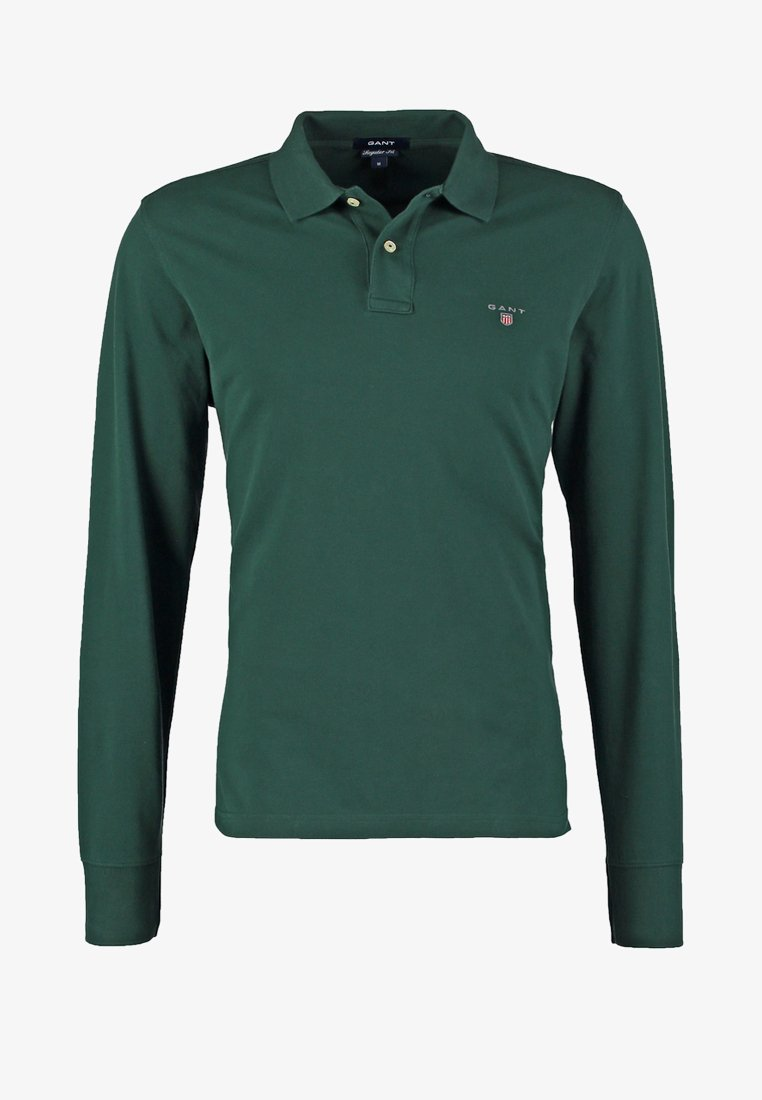 GANT THE ORIGINAL RUGGER - Poloshirt - tartan green/grün TqXaAO
