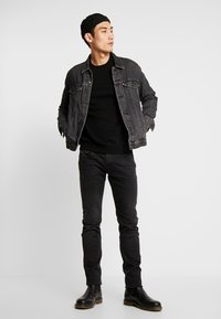 BY GARMENT MAKERS - THE MERINO KNIT ORGANIC - Strickpullover - anthracite - 1