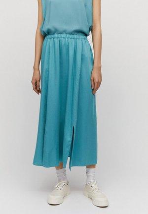 KATINKAA - A-line skirt - teal blue