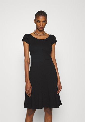 BASIC - Mini dress - Jerseykjole - black
