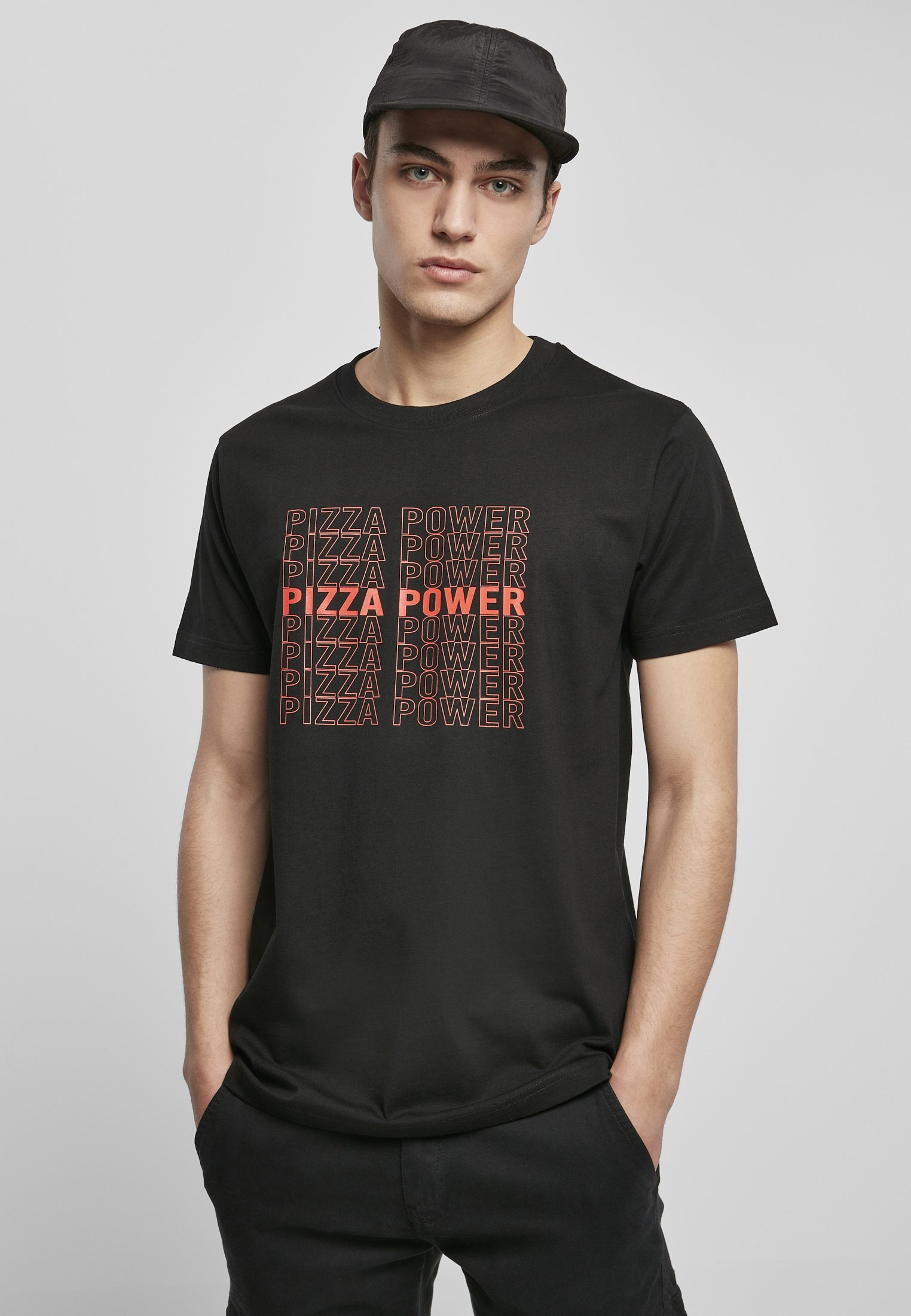 Homme PIZZA POWER  - T-shirt imprimé