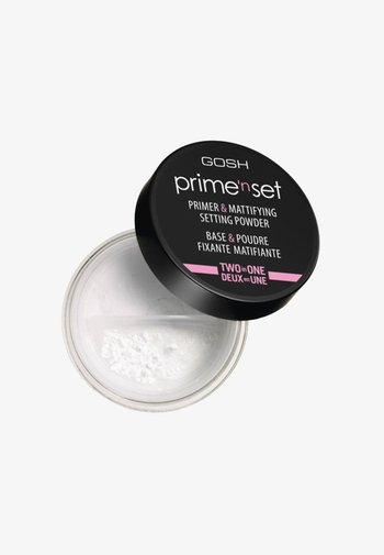 PRIME'N SET POWDER PRIMER & MATTIFYING SETTING POWDER - Primer - 001 transparent