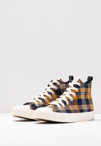 ONLY SHOES - ONLSALONE - High-top trainers - yellow - 4