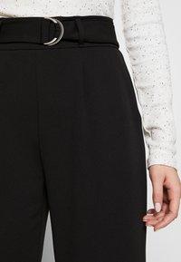 PIECES Tall - PCNALA  ANKLE PANTS - Pantalon classique - black - 4