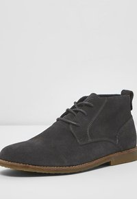 River Island - DESERT - Casual lace-ups - grey - 2