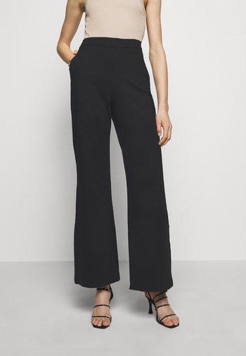 JANNIE TROUSER - Kalhoty - black