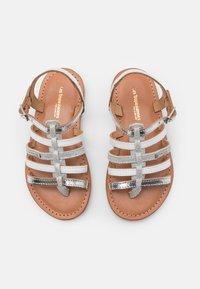 Les Tropéziennes par M Belarbi - HIRSON - T-bar sandals - argent/multicolor - 3