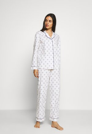 HANGING TILE SET - Pyjama set - white