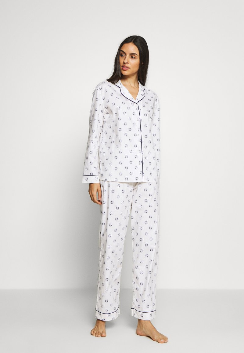 Marks & Spencer London - HANGING TILE SET - Pyjama set - white
