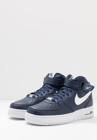 Nike Sportswear - AIR FORCE 1 MID '07 - High-top trainers - midnight navy/white - 2