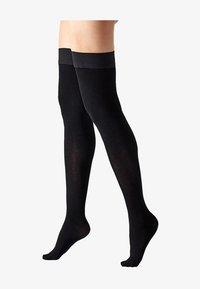 Calzedonia - Over-the-knee socks - black - 1
