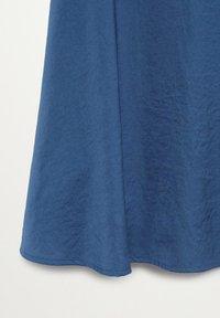 Mango - SICILIA - Maxi skirt - bleu - 2