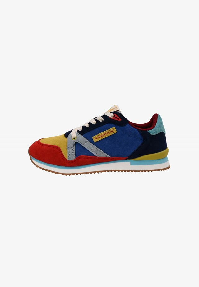 ANDRÉ MARINE JAUNE ROUGE - Sneakers laag - blue