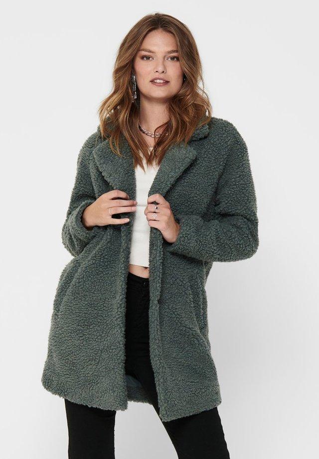 Short coat - balsam green