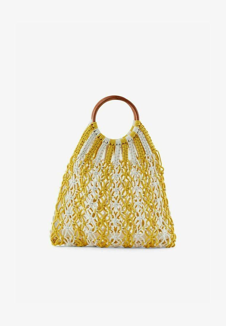 Pieces - Handbag - lemon drop