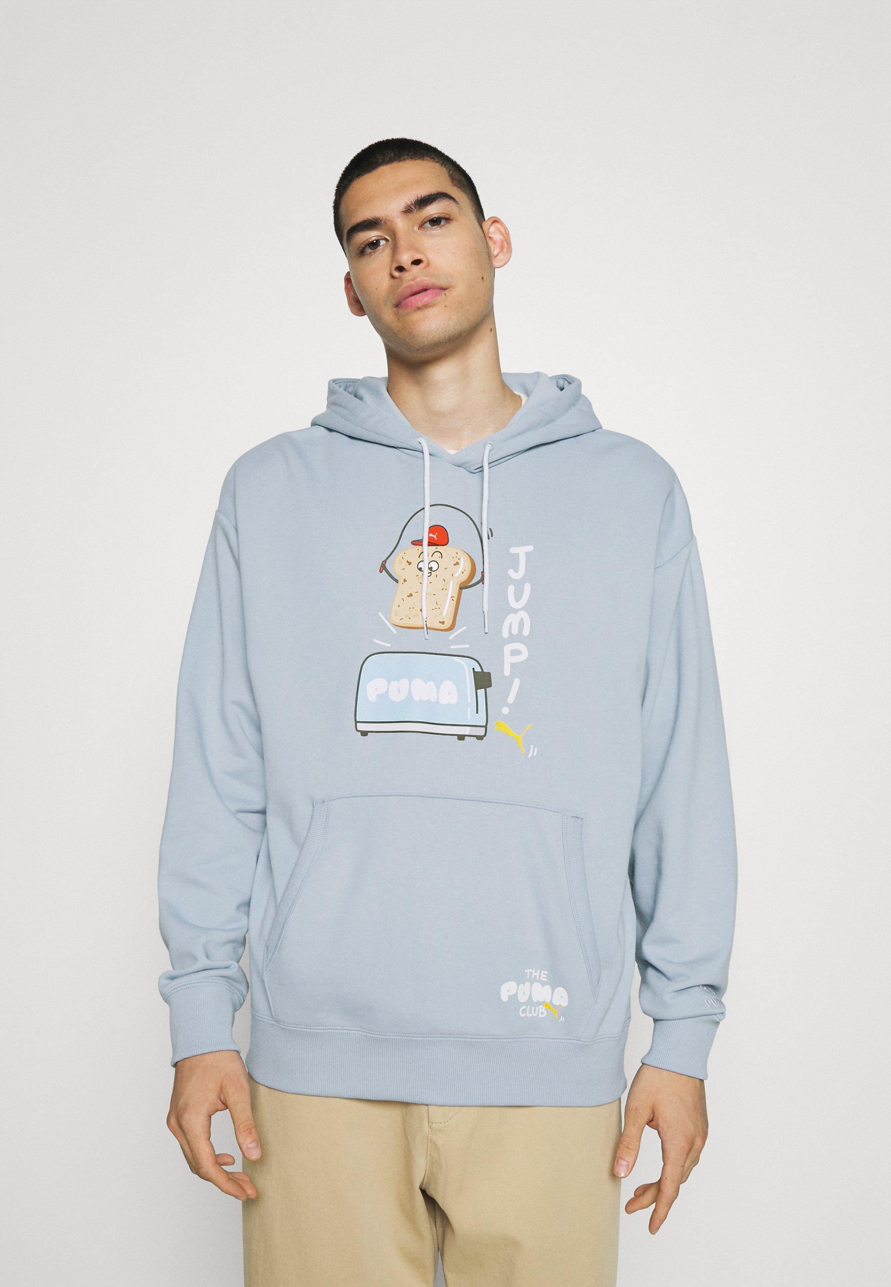 Herren CLUB GRAPHIC HOODIE - Sweatshirt