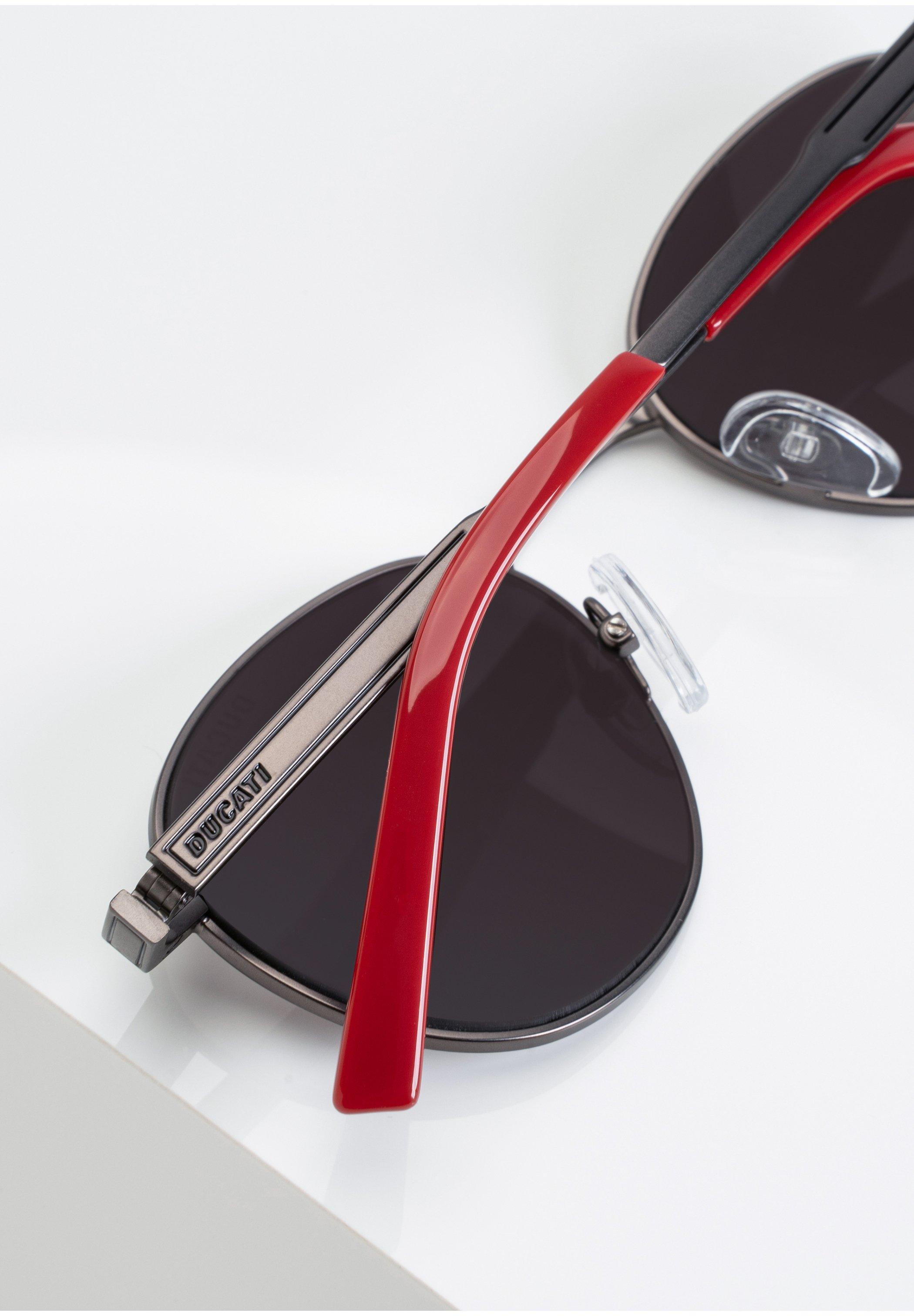 DUCATI Eyewear SONNENBRILLE DA7015 - Sonnenbrille - dk.gun/schwarz - Herrenaccessoires RSCWO