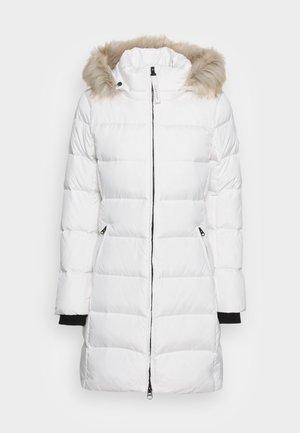 ESSENTIAL REAL COAT - Down coat - ecru