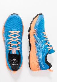 ASICS - FUJITRABUCO LYTE - Trail running shoes - directoire blue/shocking orange - 1