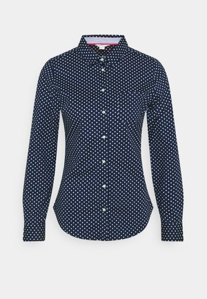 CAMISA SLIM FIT - Button-down blouse - navy