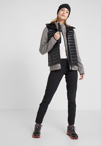 CMP - WOMAN JACKET - Fleecetakki - rock/desert/nero - 1