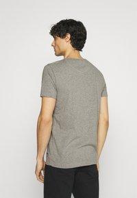 Superdry - LAUNDRY TEE TRIPLE 3 PACK - T-shirt basic - black/optic/laundry grey marl - 2
